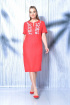 Платье MALI 419-019 красный