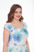 Платье Anelli 161 голубой