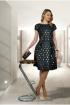 Платье Talia fashion Пл-072 черный+золотой