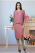 Платье Tensi 193 1_пепельно-розовый