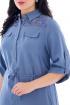 Платье БАГРЯНИЦА 2100 голубой
