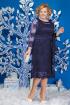Платье Ninele 5580 синий