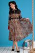 Платье Мода Юрс 2544 леопард