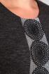 Платье Diamant 1234 темно-серый