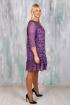 Платье Avila 0574 фиолетовый