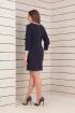 Платье Basagor 432 темно-синий