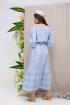 Платье Daloria 1660 светло-голубой