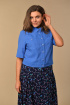 Жакет,  Юбка Lady Style Classic 1328 синий