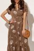 Платье AYZE 1462 кофейный