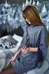 Платье Rawwwr clothing 129 серый