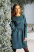 Платье Rawwwr clothing 012 изумрудный