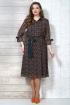 Платье Белтрикотаж 4272 коричневый