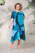 Платье БагираАнТа 619 синий
