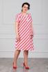 Платье MadameRita 5021 красный