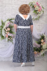 Платье Ninele 295 синие_ромашки