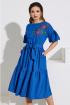 Платье Lissana 4017 электрик