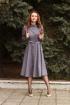 Платье Lady Smile 1017-41 клетка