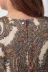 Платье Anelli 217 коричневый