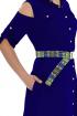 Платье,  Ремень Effect-Style 695 васильковый