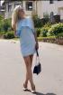 Платье Natali Tushinskaya 0023 голубой