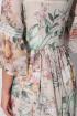 Платье Lenata 12081 цветы-на-бежевом
