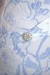 Платье Anelli 397 белый+голубой