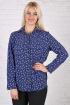 Рубашка Avila 0590 синий