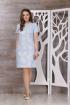 Платье TAiER 588 голубой