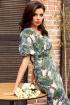 Платье Мода Юрс 2565 зеленый