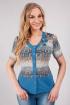 Блуза Тата Акварель 223-0-0-13