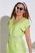 Платье Lissana 4087 лайм