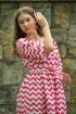 Платье Tanya Arzhanova 0301ТА зигзаг