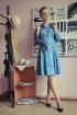 Платье Arisha 1212 темно-бирюзовый