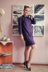 Платье Arisha 1221-1 пурпурный