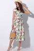 Платье,  Пояс LeNata 11115 фруктовый-сад