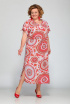 Платье Djerza 1420 красный