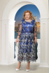 Платье Ninele 5617 синий