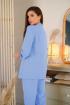 Брюки,  Жакет,  Пояс LadisLine 1202/1 голубой