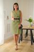 Платье LadisLine 1235 оливка