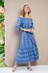 Платье Daloria 1660 голубой