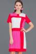 Платье Ружана 148-2 красный