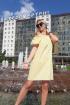 Платье Lady Smile 1008 желтый