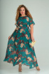 Платье SOVITA M-661 изумруд