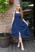 Платье Andrea Fashion AF-16/3 синий