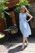 Платье Andrea Fashion AF-16/5 голубой