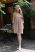 Платье Andrea Fashion AF-19/3 бежевый