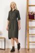Платье Bazalini 3559 хаки