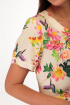 Платье Anelli 217 молоко_цветы
