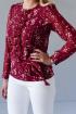 Блуза LindaLux 778 красный