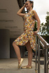 Платье Arisha 1127 золотистый